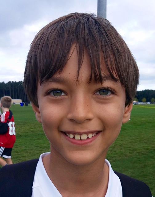 I have run a mile.  Luke Age 9